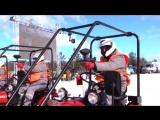 Тракторный биатлон в Белоруссии