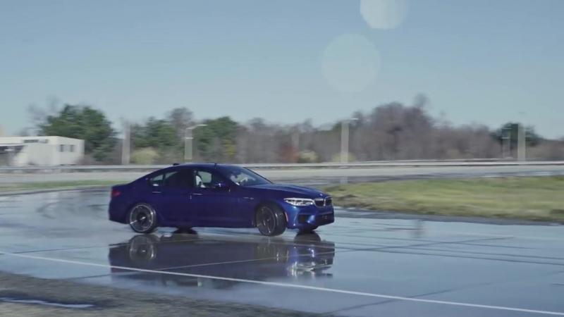 BMW М5 рекорд по дрифту.