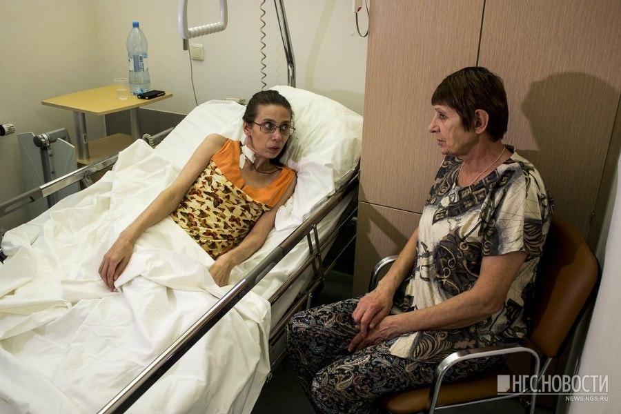 Томской учительнице новосибирские врачи удалили опухоль в 8 кг.