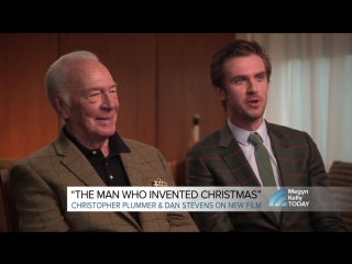 Christopher Plummer and Dan Stevens talk about their new Christmas film TODAY com