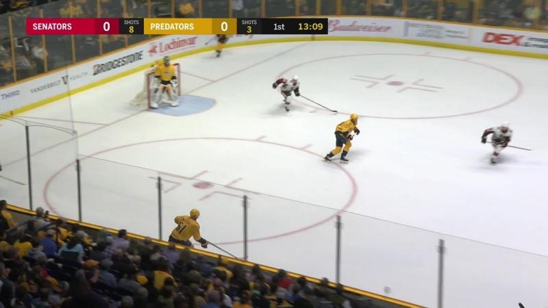 NHL 2017-2018 / RS / 19.02.2018 / Ottawa Senators @ Nashville Predators