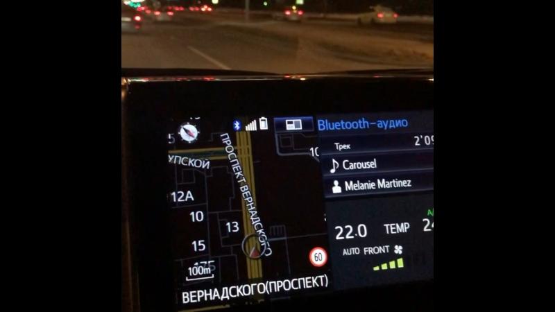 Покатушки по ночной Москве