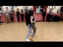Мастер-класс Bachata fusion в студии танца Sierra Maestra