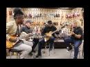 AMAZING JAM! Henny Hendrexz, Tim Pierce, Conrad Lee Jason Scheff at Normans Rare Guitars