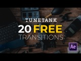 20 Free Transitions for After Effects | Tunetank.com