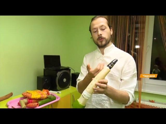 Огірок, морква, перець, гарбуз і квасоля – концерт на незвичних інструментах у Черкасах