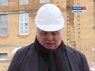 Возрождение Костромского Кремля продолжится даже зимой