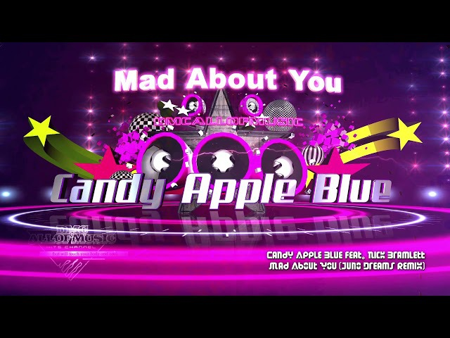 Candy Apple Blue feat. Nick Bramlett - Mad About You (Juno Dreams Remix) (italo synthpop)