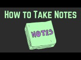 How to Take Good Notes Using the Best Note Taking Method Engineering, Math, and Science