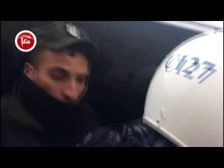 المتظاهرون يرمون موكب البطريرك ثيوفيلوس بالبيض والأحذية في بيت لحم