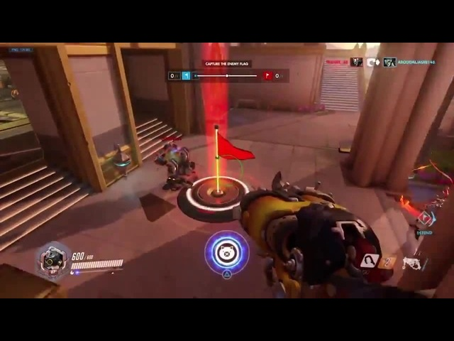 LOL THAT ANA GRENADE! Overwatch Funny Epic Moments 416
