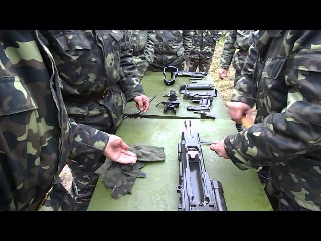 Разборка автомата 2А14 от ЗУ-23 (видео 2)