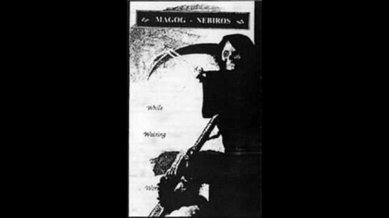 MAGOG ( FRA.) /NEBIROS ( FRA.) SPLIT DEMO WHILE WAITING THE WORMS (R.I.P. BAND)