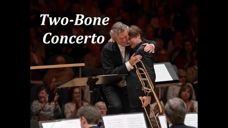 Two-Bone Concerto, Jorgen van Rijen Alexander Verbeek (Johan de Meij)