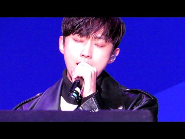 [180215] B1A4 평창 헤드라이너쇼 3 - Lonely (진영 focus)