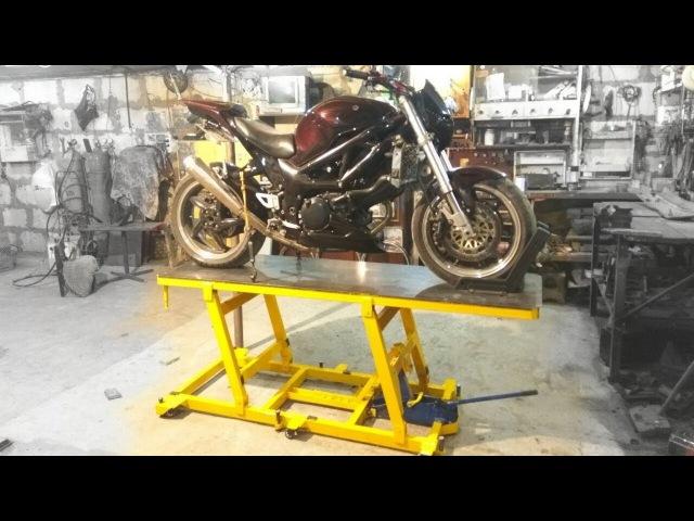 Самодельный подъемник для мотоцикла