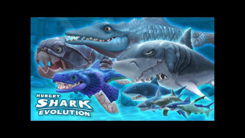 СУМАСШЕДШАЯ АКУЛА Hungry Shark Evolution Обзор