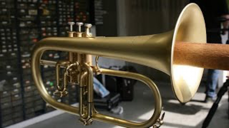 Customized Courtois Flugelhorn