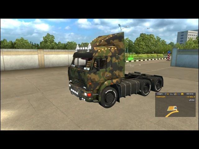 обзор мода KAMAZ для euro truck simulator 2
