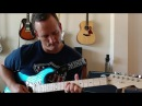 See Back Guitar In The Wall Statocaster with Bare Knuckle VHII and Irish Tour pickups
