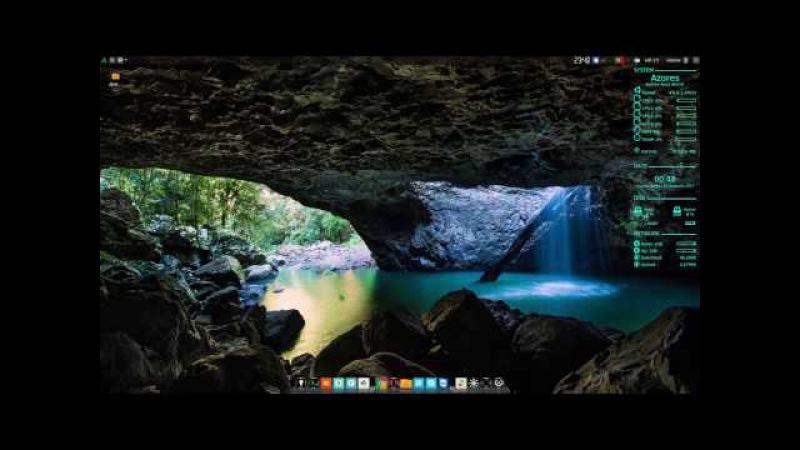 Antergos Linux 64bit моя сборка
