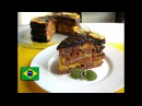 Торт Бразилия с апельсиновым конфи