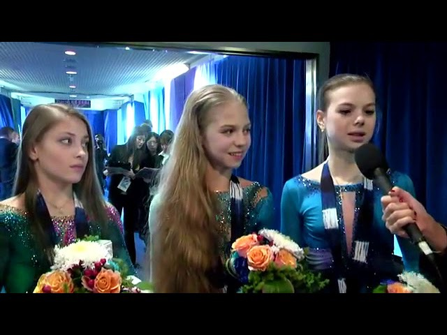 Интервью Трусова Косторная Тараканова Trusova Kostornaia Tarakanova