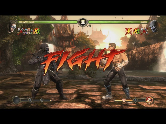 Mortal Kombat Komplete Edition - Test Your Luck - Hard - Jonny Cage [HD - 60 fps]