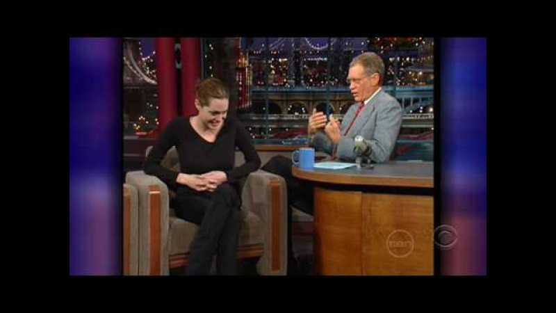 Angelina Jolie Interview on David Letterman (1998)