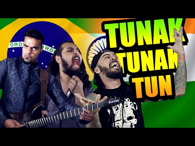 TUNAK TUNAK TUN METAL VERSION | Bloodywood Feat. Bonde do Metaleiro |