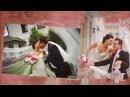 Волшебные мгновения нашей свадьбы Шаблон для монтажа слайд-шоу №1003