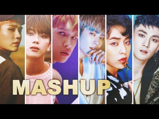 VIXX B A P NU'EST EXO ft 24K BTOB Shangri La Moondance Overcome The Eve MASHUP