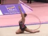 Алина Кабаева - обруч (командное многоборье) // Aeon Cup 2002