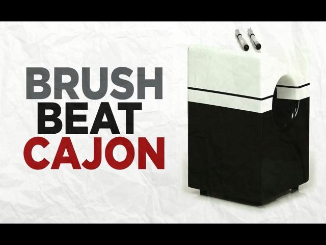 Brush Beat Cajon performance by Marc Quinones