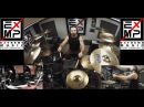 Master Of Puppets Extreme Drum Cover Gee Anzalone feat Braindamage Metallica Song