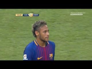 Juventus 0-2 Barcelona / Neymar Second Goal 22/07/2017 International Champions Cup HD