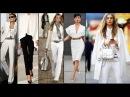 МОДА 2018 для ВСЕХ ЖЕНЩИНА В БЕЛОМ Роскошная женщина Luxury Fashion Woman in white