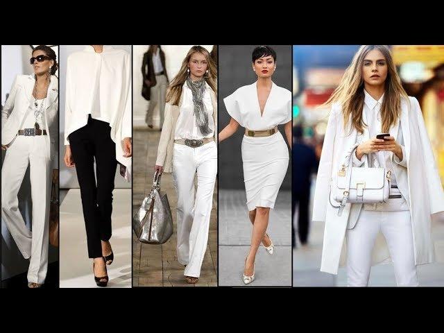 💜ЖЕНЩИНА В БЕЛОМ 💜 Роскошная женщина 💜Luxury Fashion Woman in white