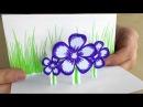 Pop Up Karten basteln für Ostern mit Papier 🌸 DIY Osterbasteln Ostergeschenke selber machen