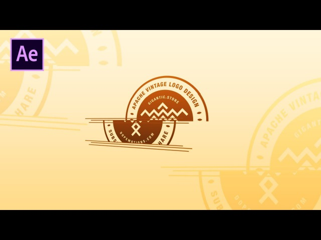 After Effects Tutorial: Dynamic Slicing Logo Animation in After Effects