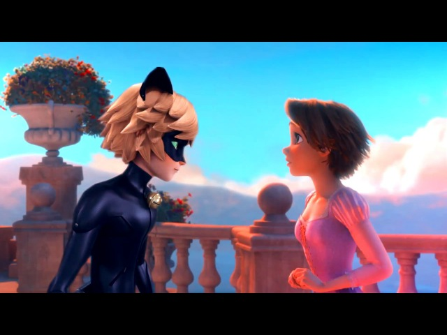 Rapunzel x Chat Noir~Stars~MEP part for xNo Lightx