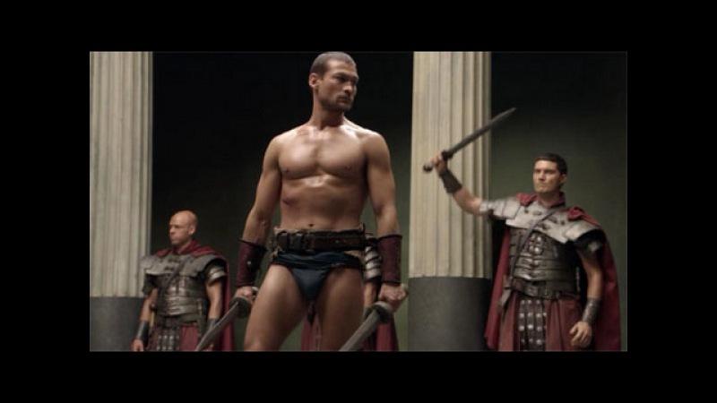 Spartacus VS Soldados de Glaber [HD] Dublado - Humilhando Glaber- 1ª Temporada
