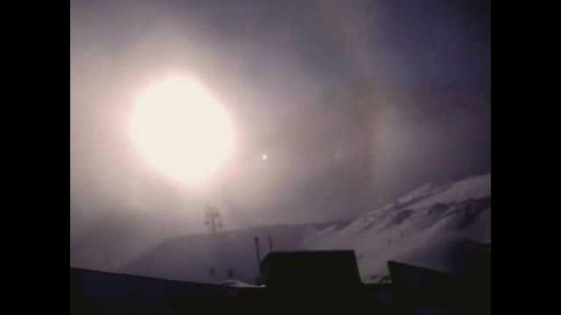 Гало над ледником -1