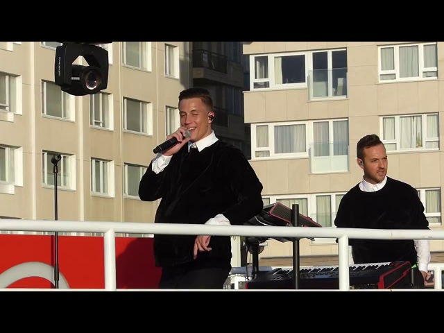 Loïc Nottet speaks about Rhythm Inside | Ostende, Q-Beach House | 27.07.2017