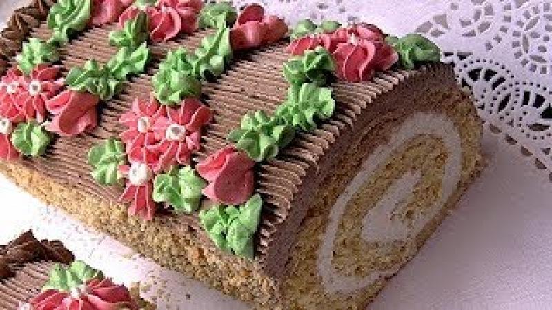 Торт Сказка,любимый с детства.