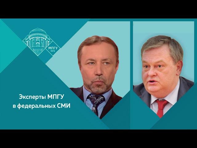 Е.Ю.Спицын и Г.А.Артамонов на радио Комсомольская правда об Учредительном собра...