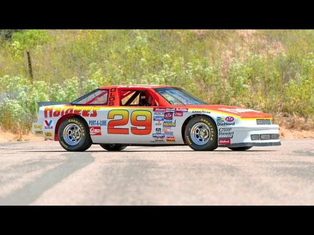 Hutcherson Pagan Oldsmobile Cutlass Supreme NASCAR Racecar 1987