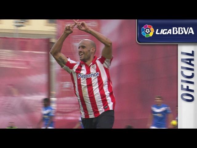 Resumen de Athletic Club (6-1) UD Almería - HD