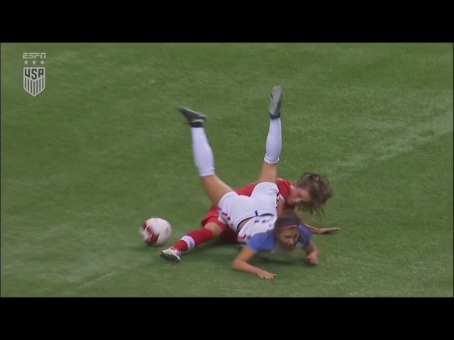 Jessie Fleming vs USWNT 11/09/17 Every Touch