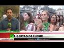 Se presenta en Argentina un nuevo proyecto de ley sobre el aborto con récord de firmas